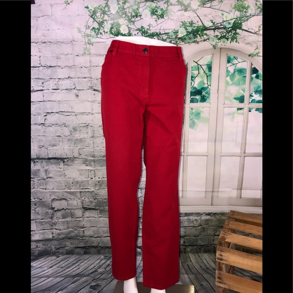 66622addbe824 Chico s Pants - Chico s So Slimming Red Pants